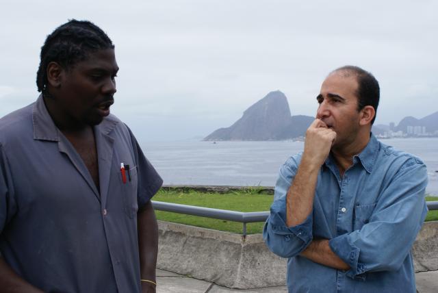Marcão e Carrano no MAC